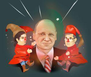 Повелитель кукол: портрет Алексея Громова, руководителя российской государственной пропаганды