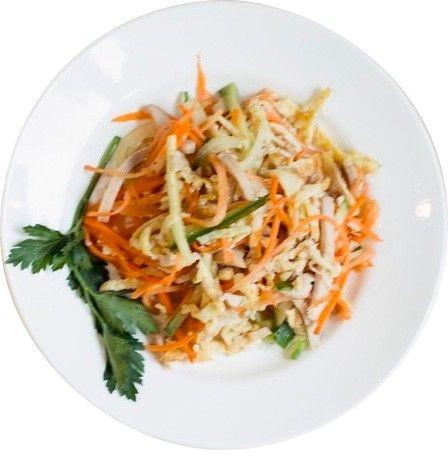 Пример блюда подаваемого в школьном питании