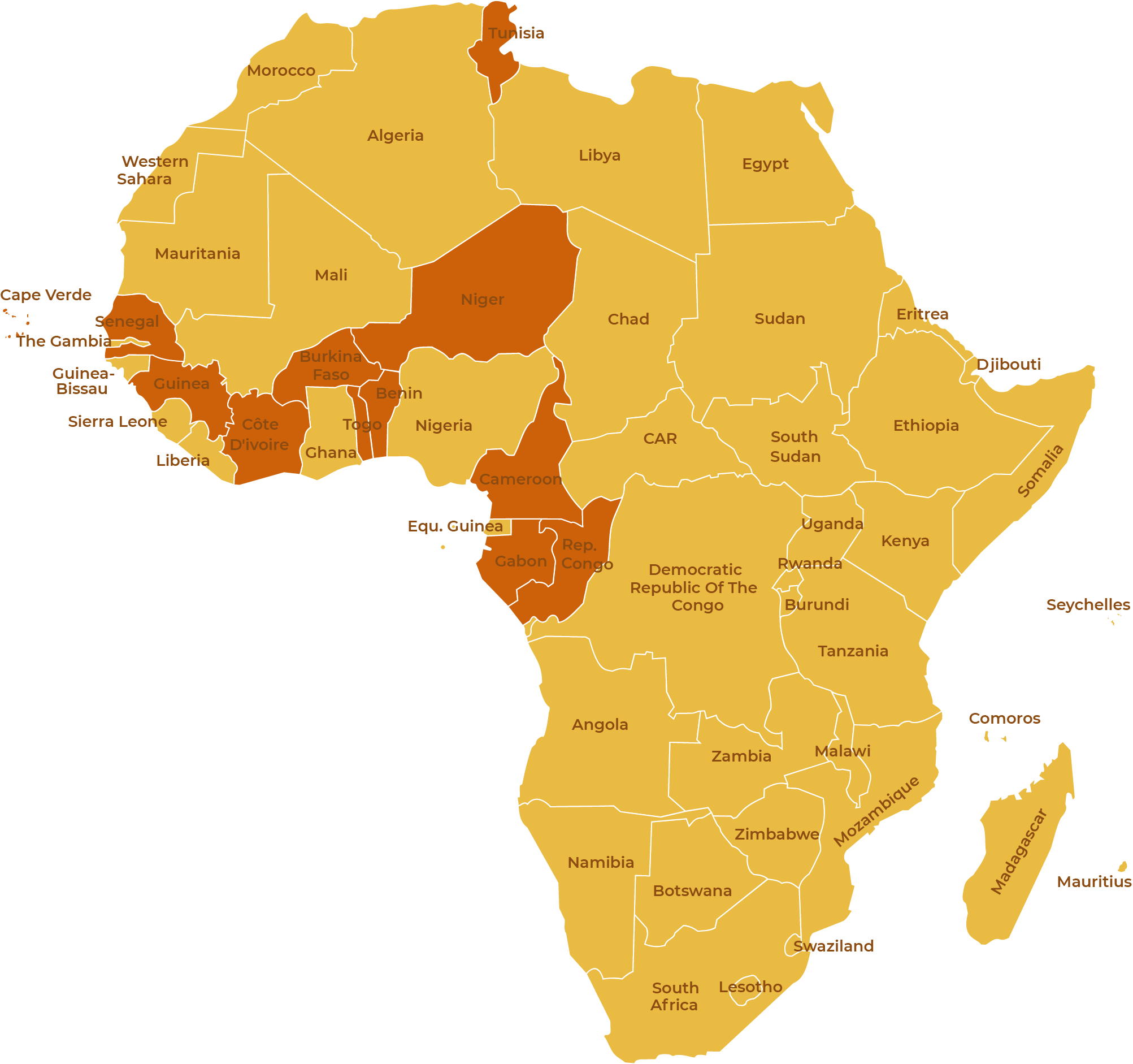How Russia interfered in elections in twenty African countries • The