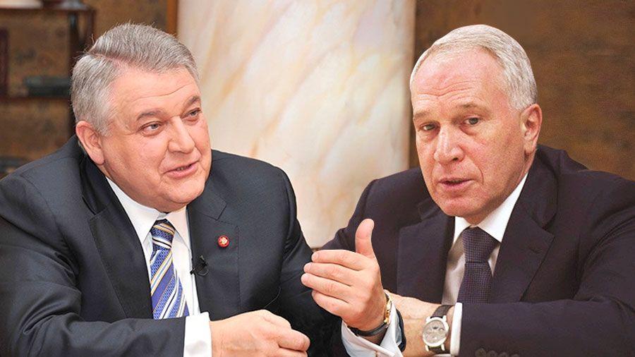 Братья Михаил и Юрий Ковальчуки