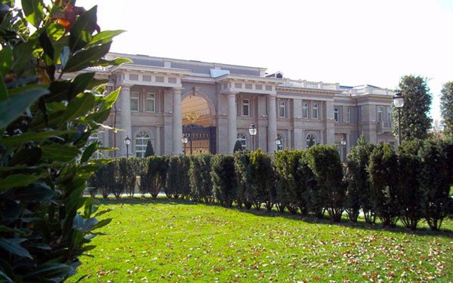 «Дворец Путина» на мысе Идокопас в Краснодарском крае.