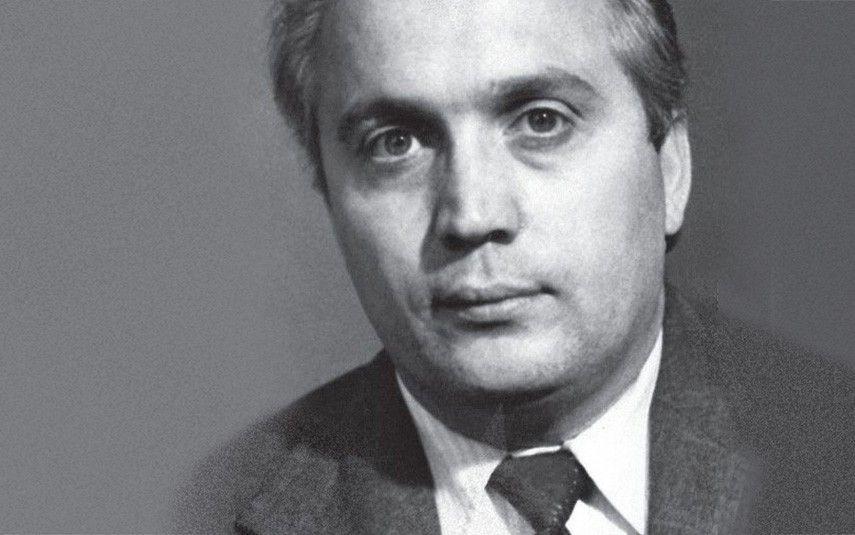 Виктор Садовничий вмолодости.