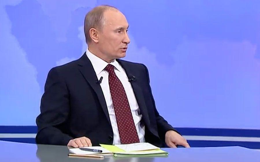 «Прямая линия» сВладимиром Путином, 2011год