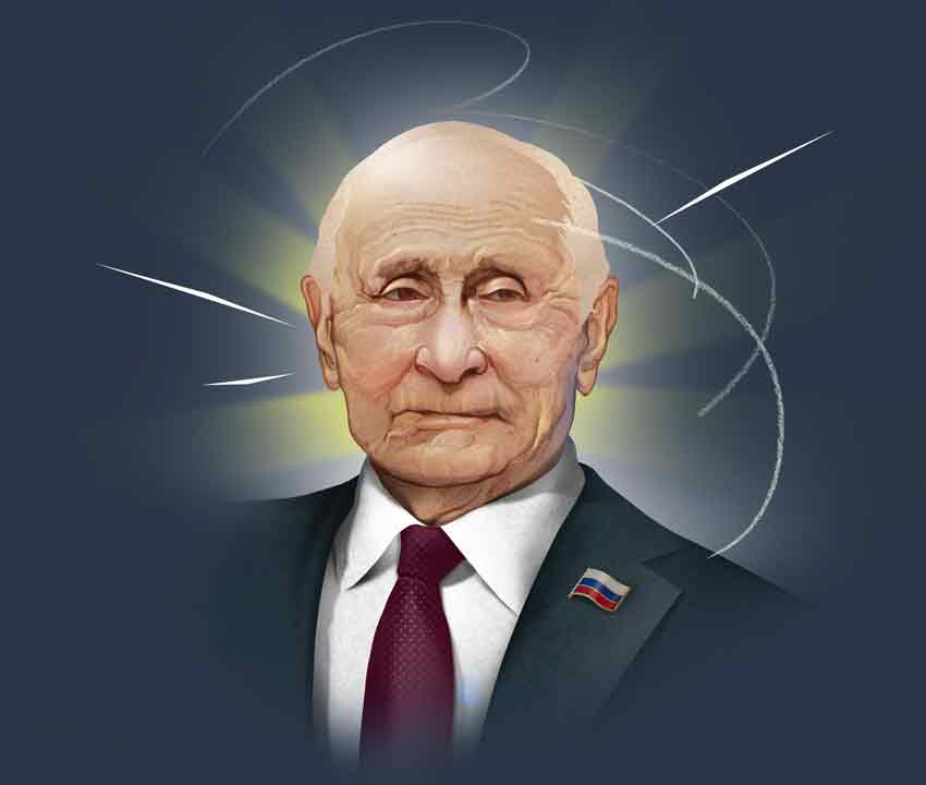 Рассказ о том, как Владимир Путин останется снами навсегда