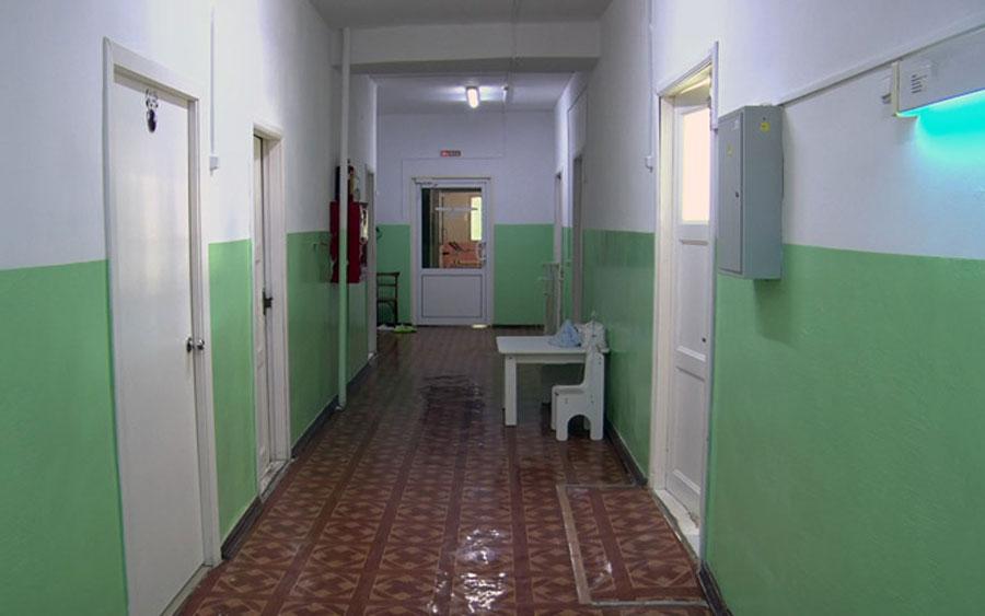 Больница в Курганской области, регионе с самой большой нагрузкой на врачей в России.