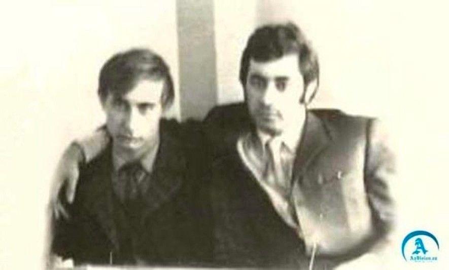 Владимир Путин и Ильгам Рагимов в молодости.